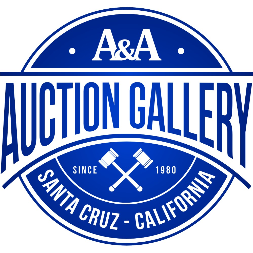A&A Auction Gallery - Serving Santa Cruz, Central California and now...the Globe.
